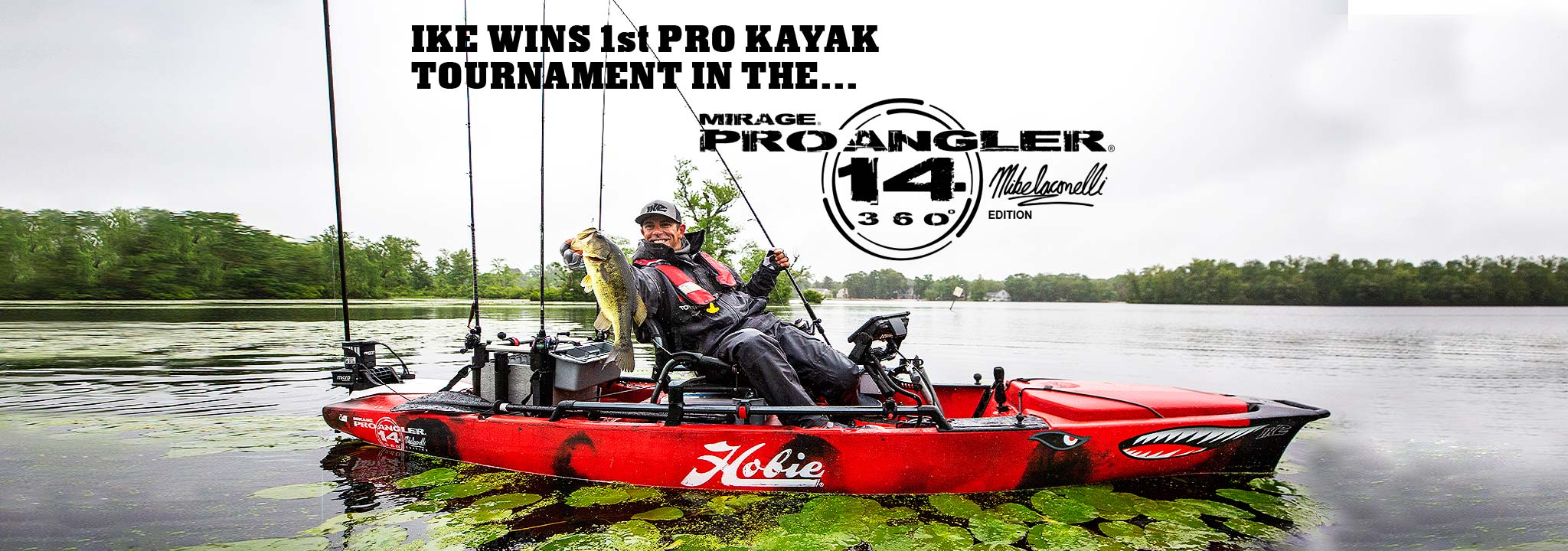 Mirage Pro Angler 14 360 Mike Iaconelli Edition