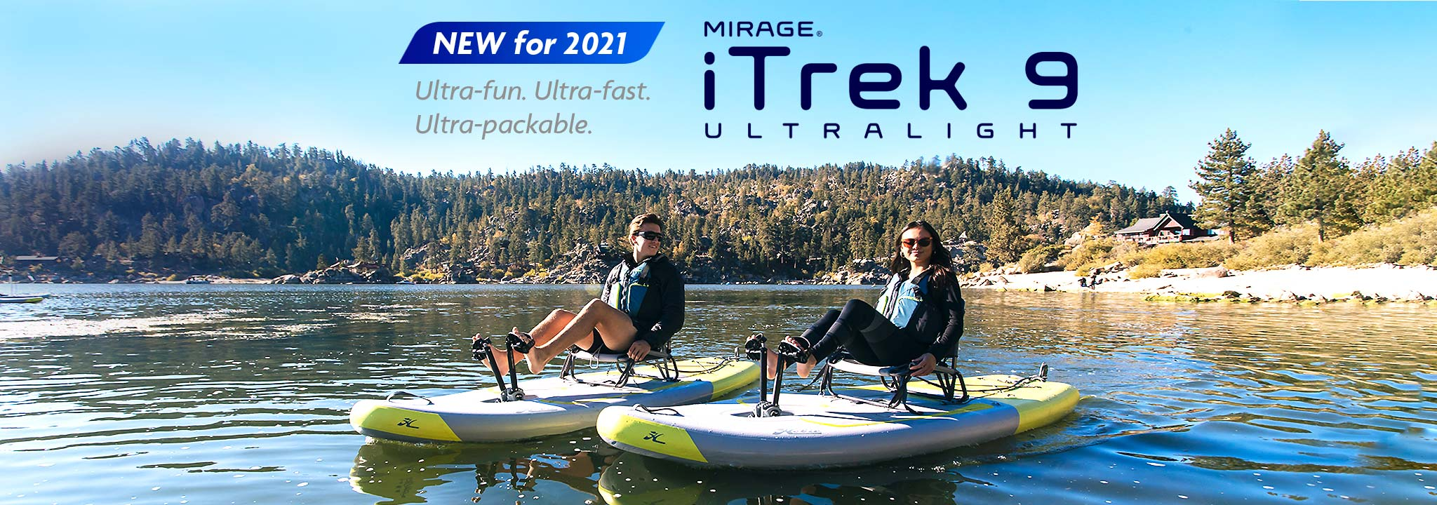 Mirage iTrek 9 Ultralight