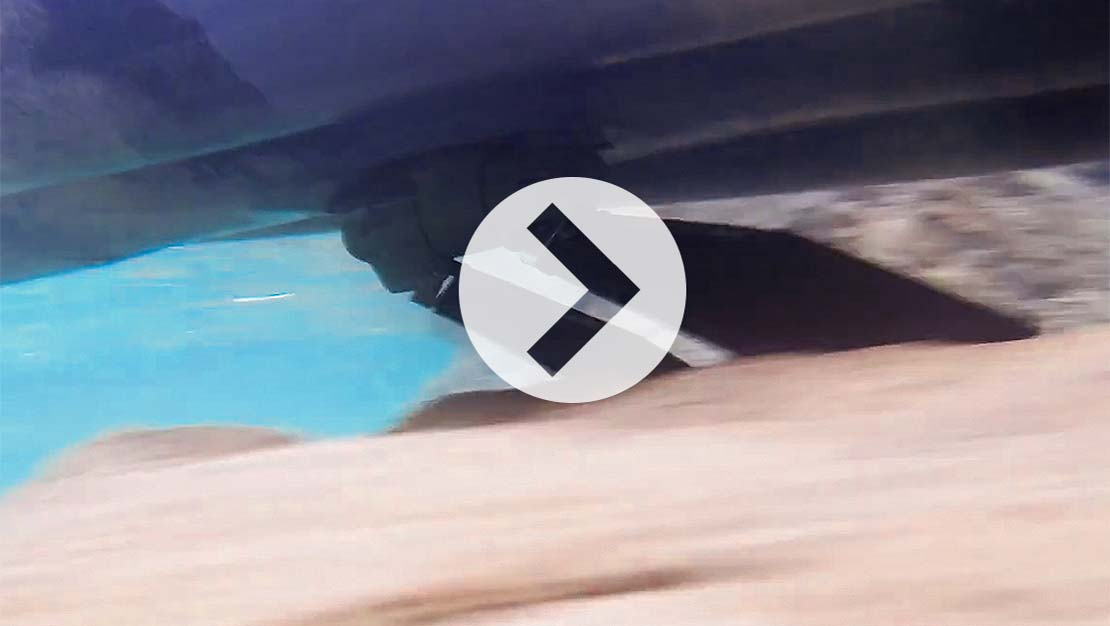 MirageDrive 180 with Kick-Up Fins video thumbnail image.