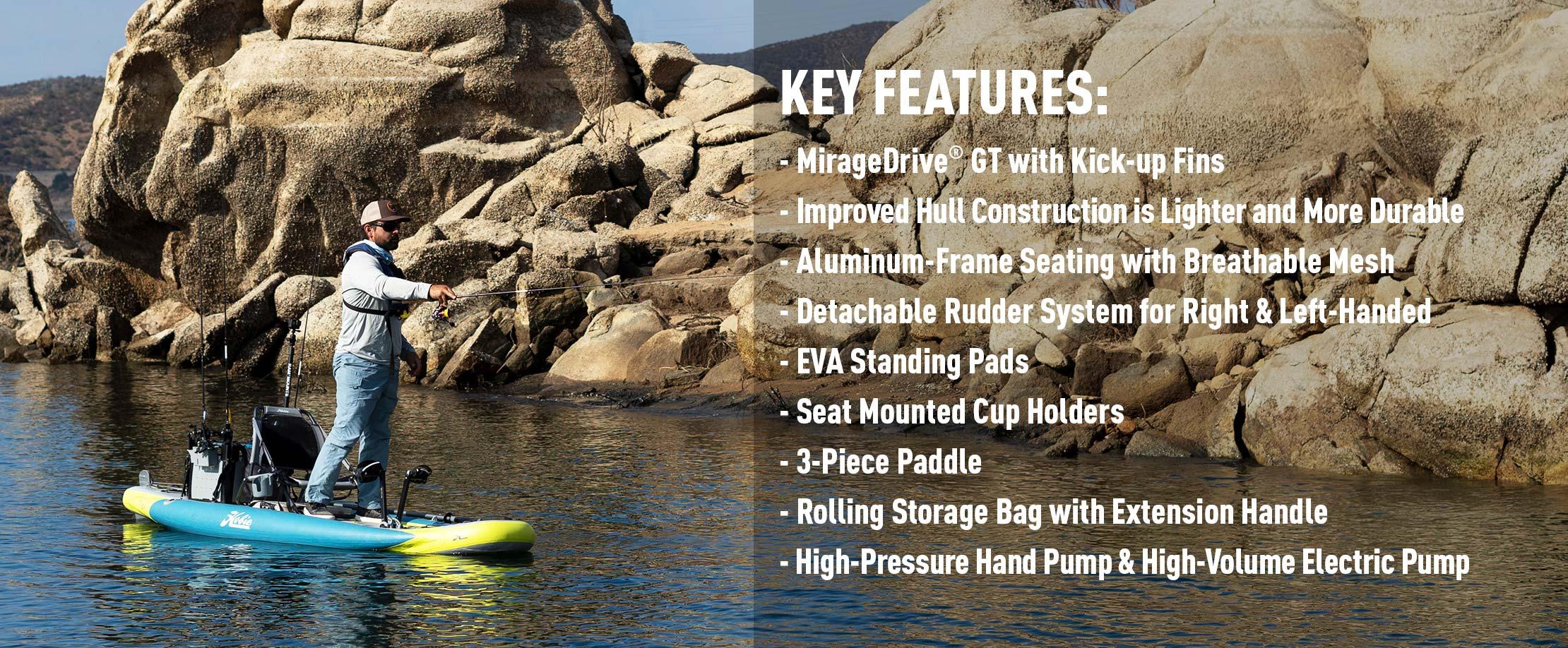 Mirage iTrek 11 Features