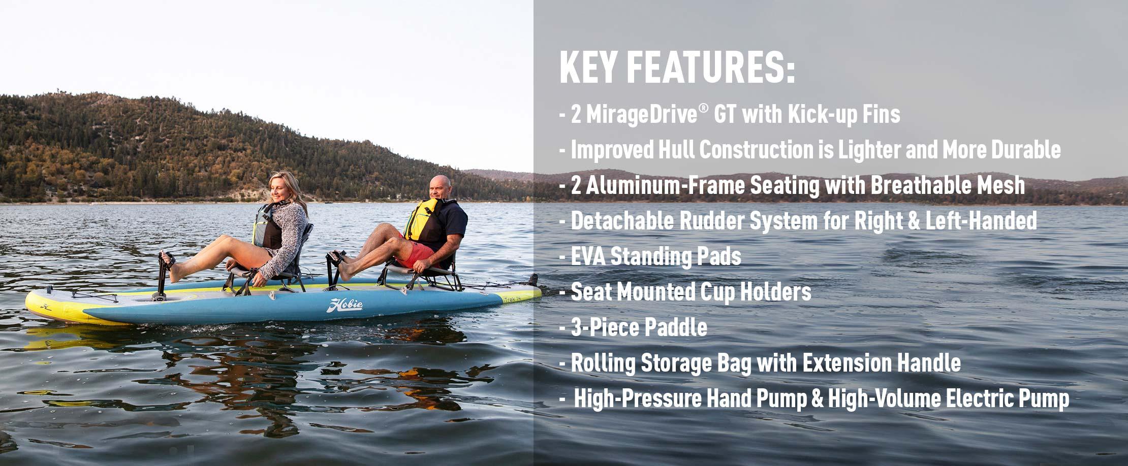 Mirage iTrek 14 Duo Features