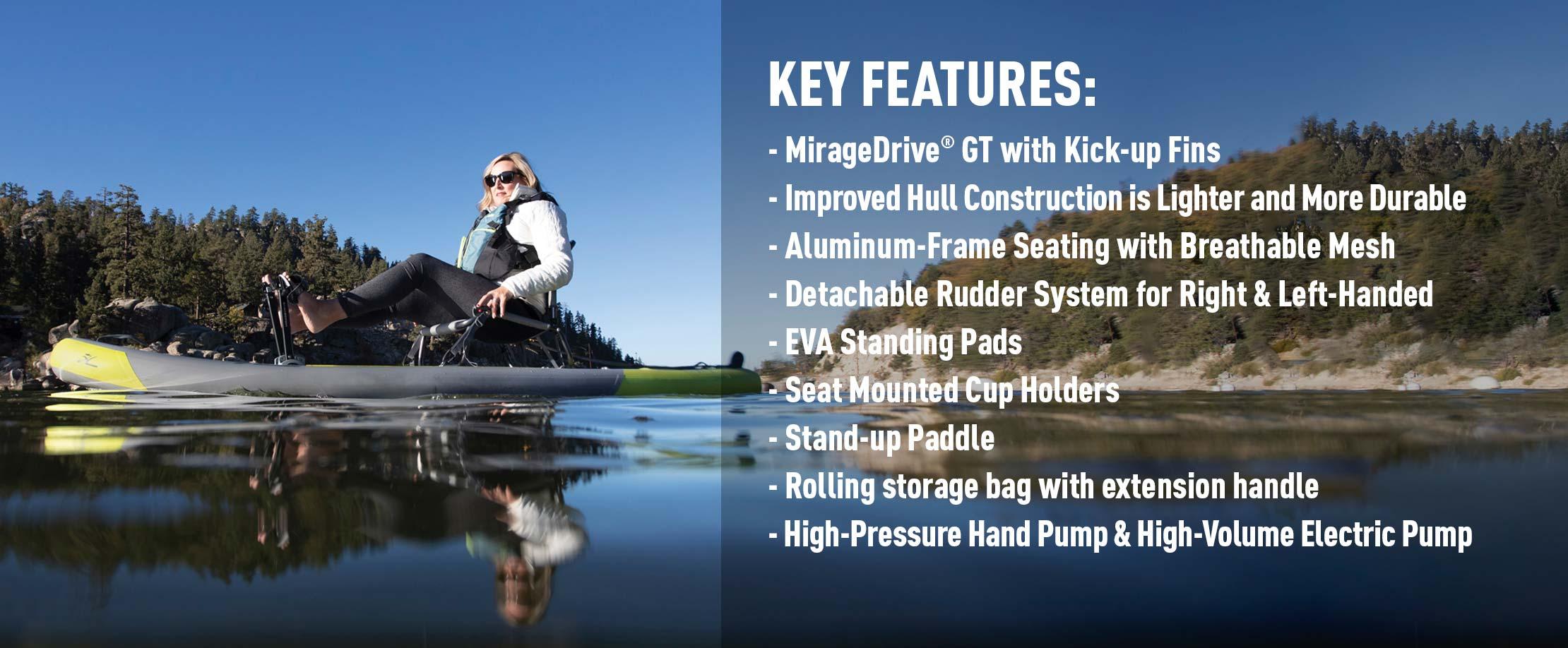 Mirage iTrek 9 Ultralight Features