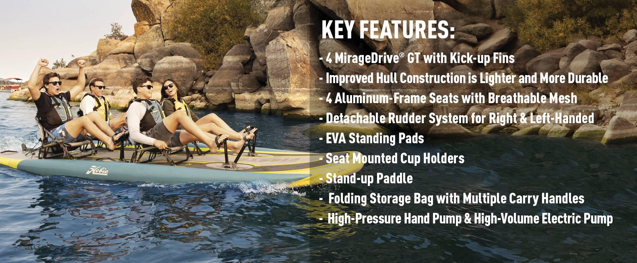Mirage iTrek Fiesta Features