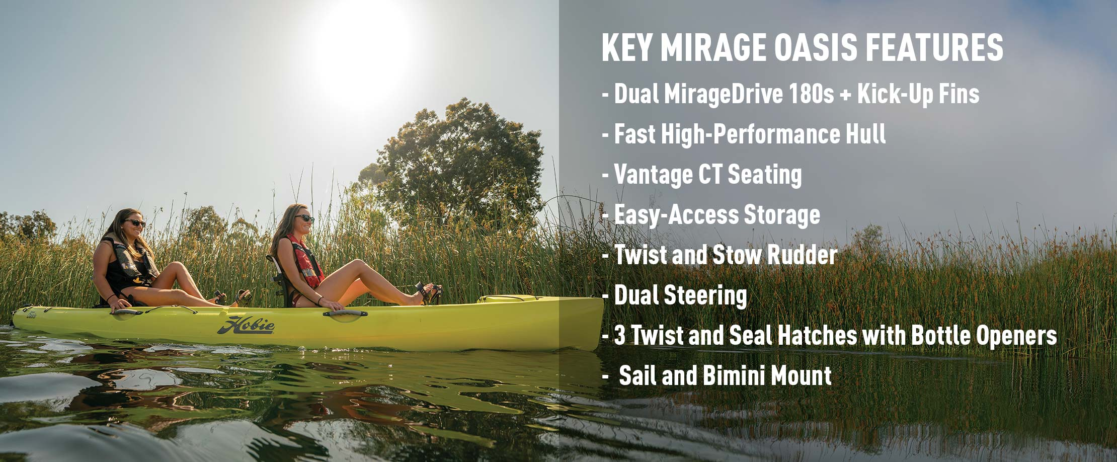 Mirage Oasis Features
