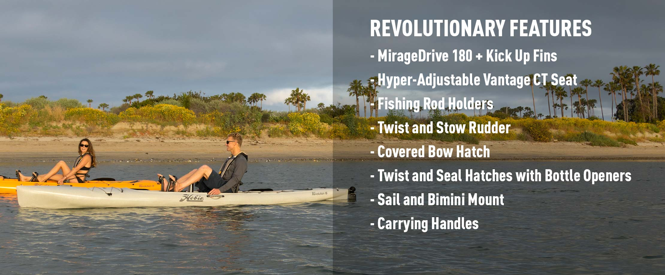 Mirage Revolution 16 Features