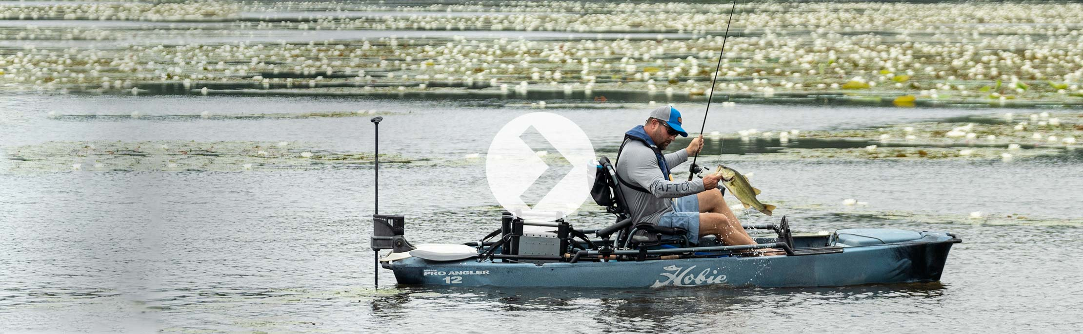 Mirage Pro Angler 12 with 360 Drive Technology Spotlight Video