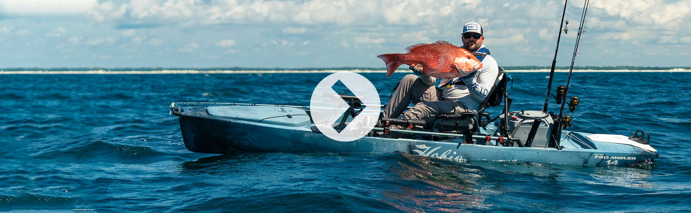 Mirage Pro Angler 14 with 360 Drive Technology Spotlight Video