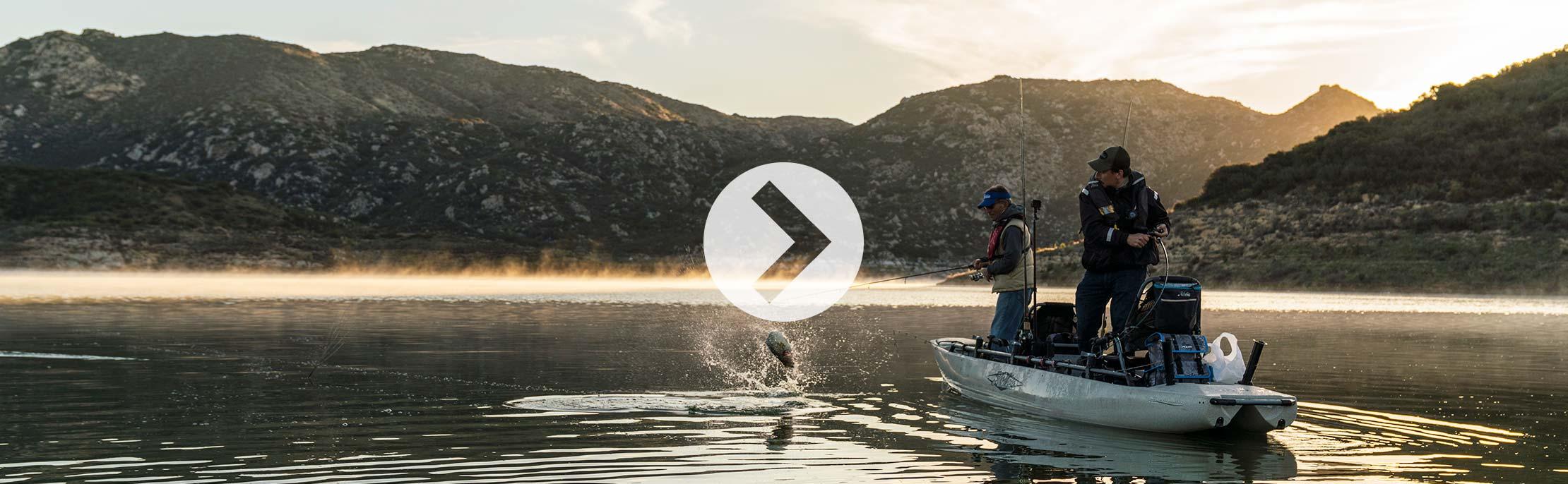 Mirage Pro Angler 17T Spotlight Video