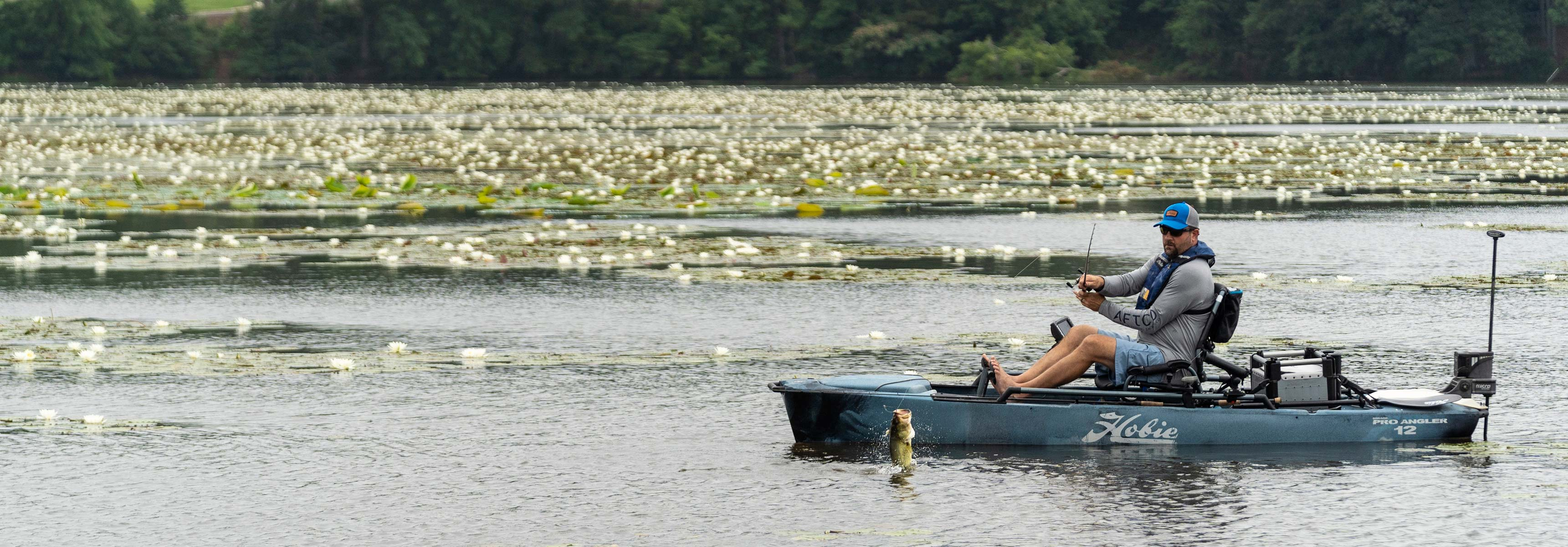 Mirage Pro Angler 12 with 360 Drive Technology mobile header image