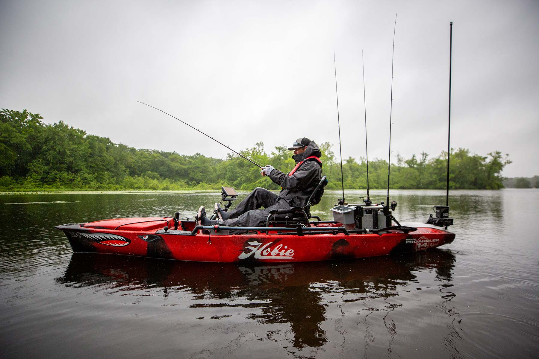 Mirage Pro Angler 14 360 Mike Iaconelli Edition mobile header image