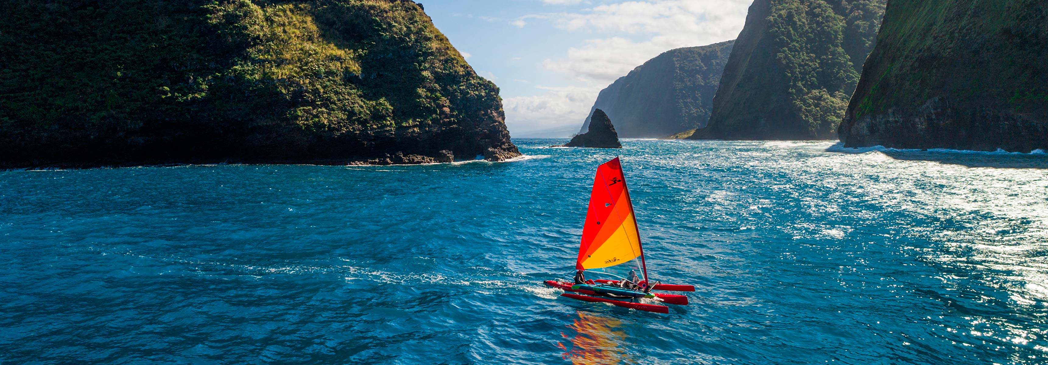 Mirage Tandem Island mobile header image